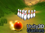 Downhill Bowling Icon