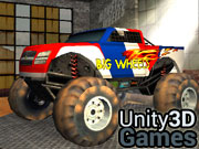 Monster Wheels 3D Icon